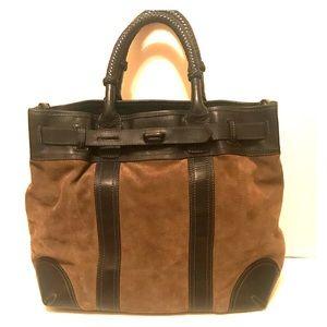 Sample Sale Find- NWOT Frye Leather/Suede Tote